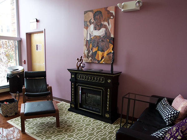 9. Front Family Room painting