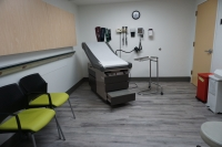 Exam room at PCC Walk-In Wellness Center at West Suburban Medical Center