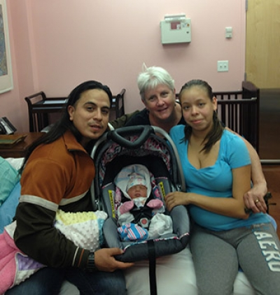 10/28/14 Illinois' first babies born in history making Birth Center at PCC